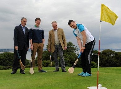 Liam Rushe was on hand to help launch the new sport.
