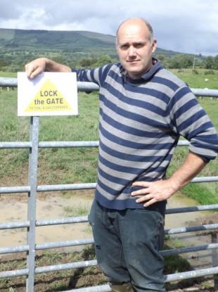 Leitrim landowner Eddie Mitchell