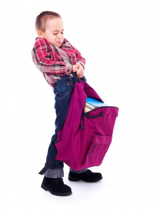 One Part Of The World Is Tackling Heavy School Bag