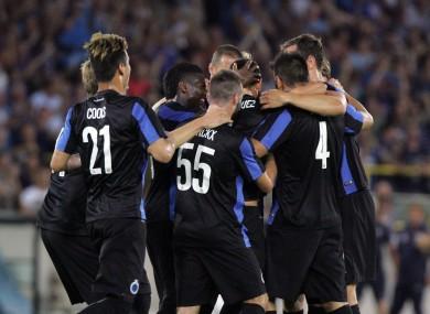 Club Brugge take on Man United tonight.