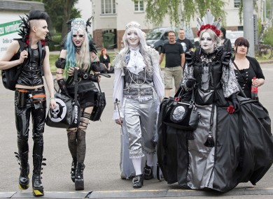 goth kids could be more at risk of depression and self harm