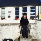 Aedan Conroy at the Heath N.S, Portlaoise