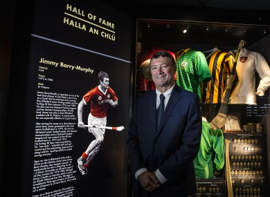 Jimmy Barry-Murphy was yesterday inducted into the GAA Museum Hall of Fame.