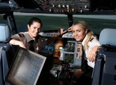 6c2e9f98093 Co-pilots Claire Cronin and Lisa Cusack who have recently completed flight  school in Jerez