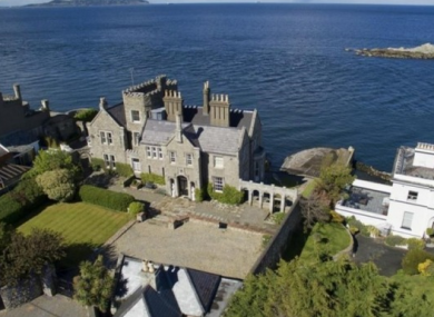 Inniscorrig in Dalkey, on sale for a cool €10.5m