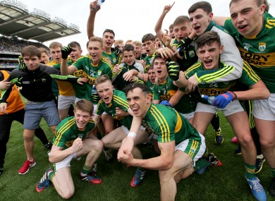 A great day for Kerry's minor footballers.