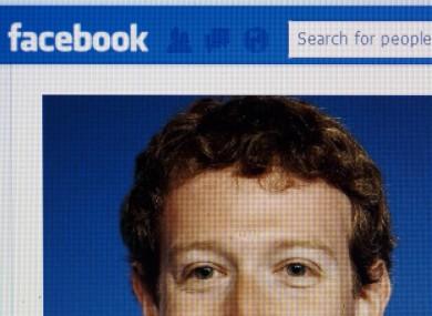 Facebook CEO Mark Zuckerberg's Facebook page in 2013