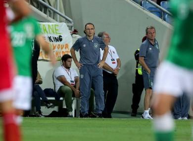 O'Neill: three points vital on Monday.