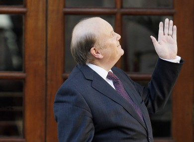 Finance Minister Michael Noonan
