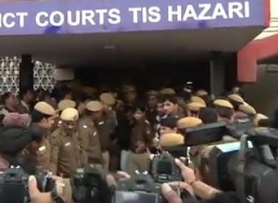 The  New Delhi court where the main appeared. (File)