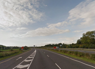 The M11 near Roscrath.