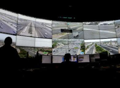 Arizona live traffic operators monitor over 200 freeway cameras throughout the Phoenix Metro area.