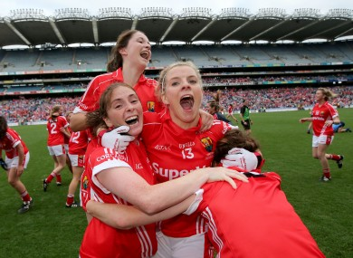 Valerie Mulcahy is well used to winning when she gets to Croke Park.