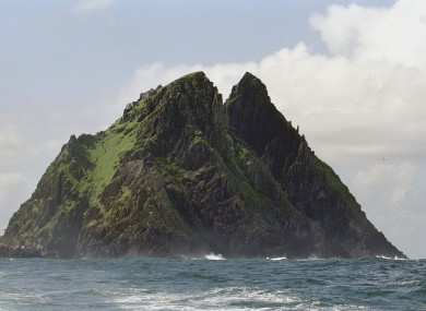 Skellig Michael will reportedly be used as the backdrop for Luke Skywaker's refuge in the upcoming film.