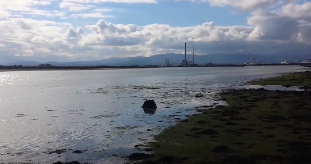 Dubliners worry this view will be blocked by a seawall that's 'sprung up like the Berlin Wall'
