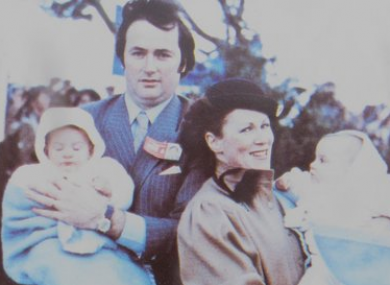 The Grant family in 1979