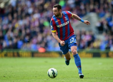 Damien Delaney has been an important part of Crystal Palace's team in recent seasons.