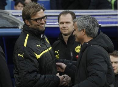 Klopp and Mourinho.