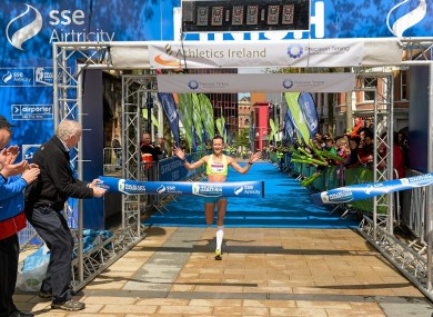 The Derry city marathon was just one high-profile event Precision Timing was involved in.