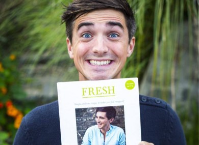 One of the nominated authors, Donal Skehan.