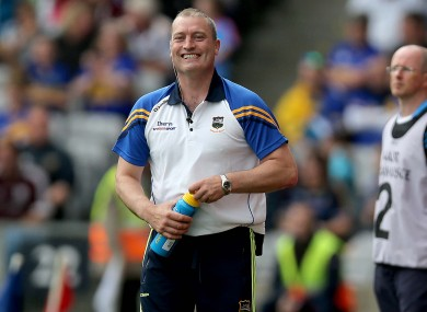Tipperary minor hurling manager Liam Cahill has spoken about the county's dual status.