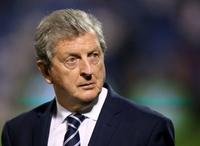 Roy Hodgson's side will take on France on Tuesday.
