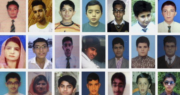 'Still my heart is crying': Devastation and anger a year on from school massacre