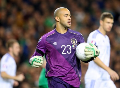 Randolph was part of the Ireland team that gained victories over Germany and Bosnia earlier this year.