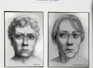 Artist drawings provided by police.
