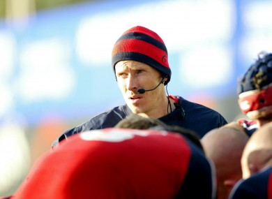 O'Callaghan has been with Munster for 17 years.