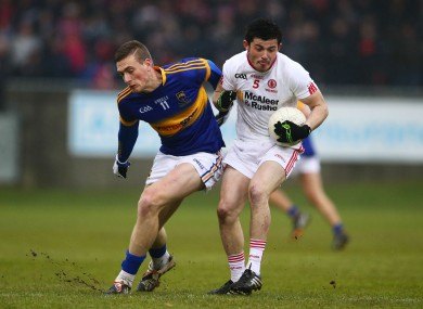 Tipp lost out to Tyrone in the All-Ireland U21 final.