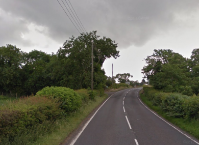 The Old Carrick Road outside Newtownabbey.