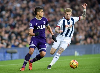 McClean found the net in his 15th Premier League outing for the Baggies.