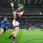 Matthew O'Hanlon of Wexford during the Walsh Cup final against Dublin.