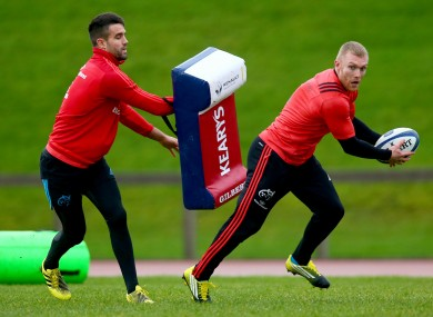 Murray and Earls will be wearing the red of Munster until 2019.