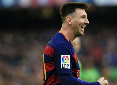 Lionel Messi insists he'll never play in the Premier League