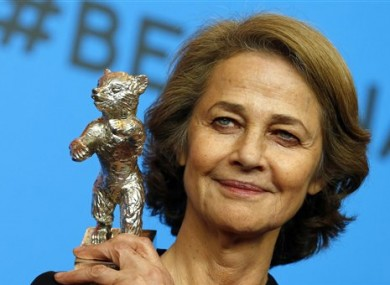 British actress Charlotte Rampling had her say about the controversy.