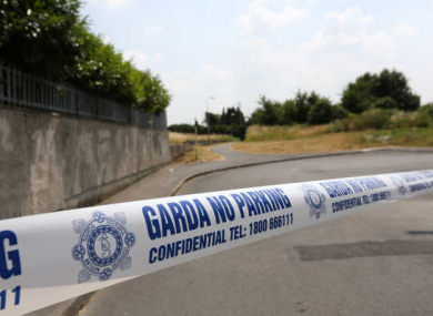 The area between St John's Lane and the Greenhill estate in Athy, County Kildare where James Keane's body was found.