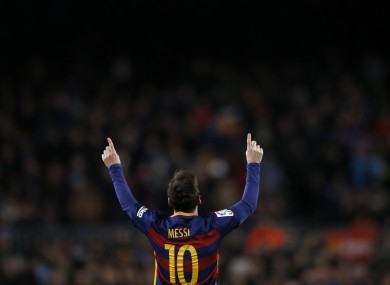 It's been a historic year for Lionel Messi and Barcelona.