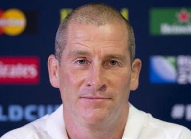 Former England head coach Stuart Lancaster