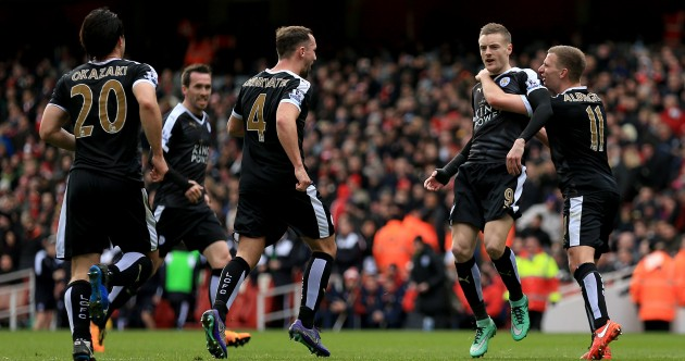 As it happened: Arsenal v Leicester City, Premier League