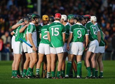 The players in question were part of the Limerick U21 team that won last year's All-Ireland final.