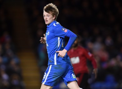 Forrester has featured 31 times for the Posh since joining.