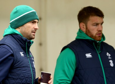 The Leinster men sat out training again today.