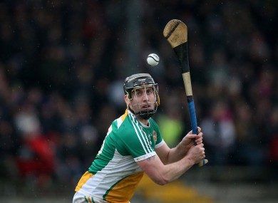 Shane Dooley hit 0-12 for Offaly in Tullamore (file photo).