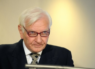Former Conservative MP Harvey Proctor speaking at a press conference last August