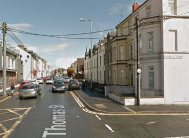 The Mourneview Street/ Thomas Street area