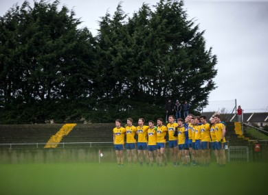 The Roscommon footballers are chasing a football league semi-final place.