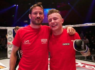19-year-old Irish fighter signed by top US-based MMA