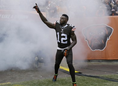 Josh Gordon is a great player...when he makes the field.